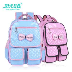 可爱儿童韩版双肩减负书包小学生超轻防水女生女童1-3-6年级