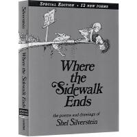 Where the Sidewalk Ends 人行道的尽头 英文原版精装绘本 谢尔・希尔弗斯 Shel Silver