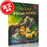现货 迪士尼真人版狮子王电影绘本故事书:哈库拉马塔塔 英文原版 Disney: The Lion King: Haku