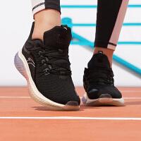 安踏女鞋跑步鞋2020冬季新款�p便�p震休�e女士鞋子��力�z�\�有�女12945501