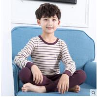 纯棉男孩 宝宝保暖衣套装 男童内衣套装全棉儿童秋衣秋裤套装