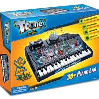 电子琴38合1香港Tronex儿童科学实验科技小制作科普diy学习用品科教益智玩具总动员8-12岁男孩女孩子进口电动电