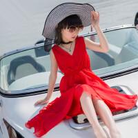 女童波西米亚连衣裙小女孩海边沙滩裙儿童装不规则公主长裙子