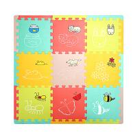 儿童泡沫地垫宝宝拼图爬行垫卡通涂鸦益智拼接地板垫子