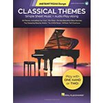 【预订】Classical Themes - Instant Piano Songs: Simple Sheet Mu