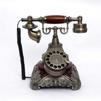 至臻仿古电话机 转盘 欧式老式复古家用办公电话座机 古董电话161