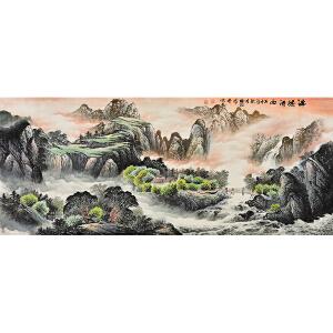 中国书画研究院理事 李福毅《锦绣河山》SS1731