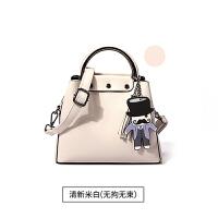 夏天小包包新款潮简约时尚女包休闲手提包韩版纯色斜挎包