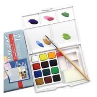 泰伦斯透明固体水彩颜料套装 樱花固体水彩颜料