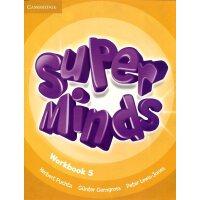 英音版剑桥小学英语教材 Super Minds Level 5 Workbook 第五级别 练习册