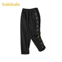 【品类日4件4折】巴拉巴拉童装儿童裤子男童运动裤潮酷休闲慢跑裤2021新款春装印花