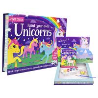 【首页抢券300-100】Activity Station Paint Your Own Unicorns 独角兽模型上