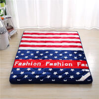 加厚床垫榻榻米海绵软垫可折叠懒人床褥子家用防潮打地铺睡垫神器