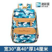 2018新款儿童书包小学生1-2-3-4-5年级男女孩迷彩背包休闲旅行包包