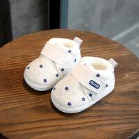 宝宝棉鞋男女0一1岁冬季6-12个月婴儿棉鞋保暖鞋软底学步棉鞋
