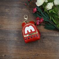 2018夏季新款mini米奇零钱包钥匙包迷你匙扣双肩背包挂饰创意钱包