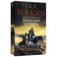 正版现货贝伦与露西恩 英文原版 Beren and Lúthien 英文版经典名著科幻小说 进口英语书籍可搭霍比特人指环