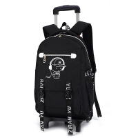 拉杆包可拉行李包韩版时尚中生六轮爬楼梯拉杆书包减负护脊