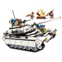 男孩玩具坦克模型拼图小孩拼装积木智力男童6-12岁7小学生礼物