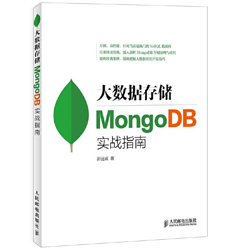 大数据存储 MongoDB实战指南 PDF下载